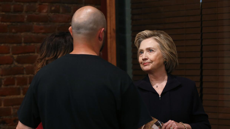 Clinton se excusó ante mineros por su comentario