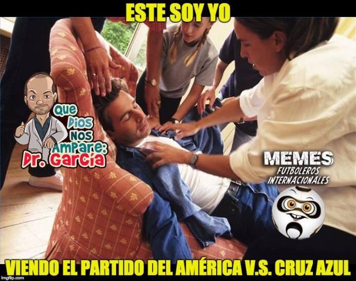 El duelo entre América y Cruz Azul resultó emocionante de principio a fi...