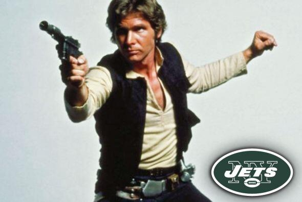 Pick 6. New York Jets -- Han Solo.