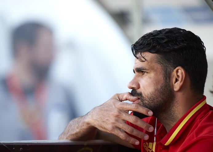 Diego Costa sigue en el limbo. La situación del Atlético de Madrid no le...