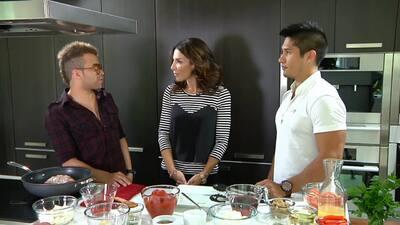 Chino y Nacho en Delicioso demostraron que sí cocinan