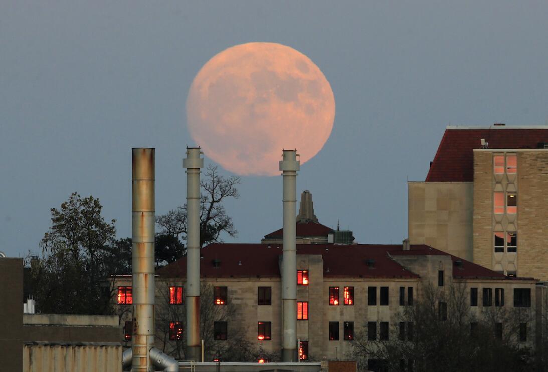 Superluna sobre Kansas