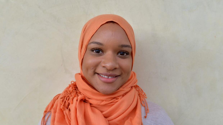 Myree Mustafa, una joven hispana y musulmana.