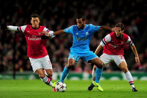 Arsenal recibía al Marsella en Londres esperando dar el paso necesario a...