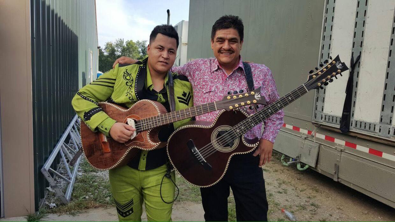 Sergio Hipólito y Rolando Pérez