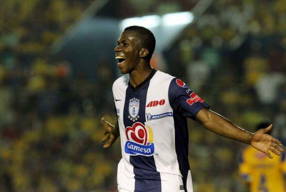 El colombiano Franco Arizala puede no haber nacido futbolísticame...