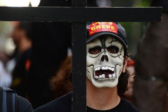 Desde junio, Brasil se ha visto lleno de protestas callejeras contra la...