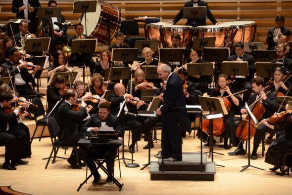 Además resaltó que haber formado parte de la orquesta fue le dejó un gra...