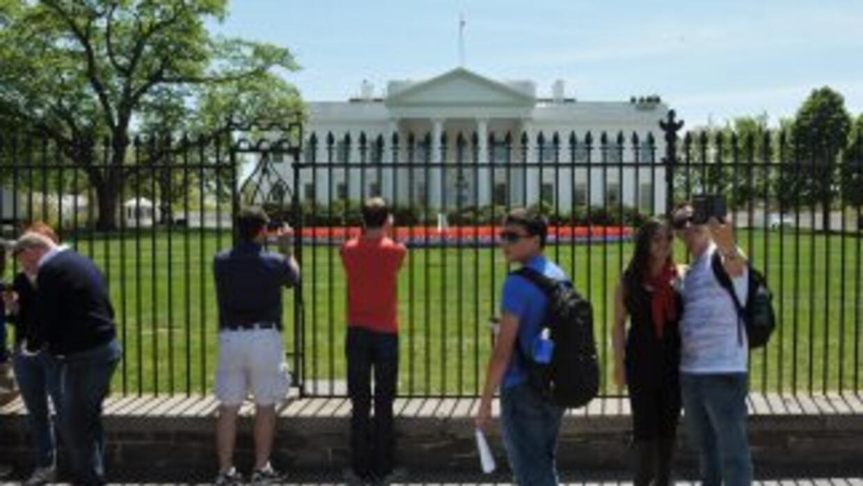 En julio, Barack Obama se convirtió en el primer presidente en el cargo...
