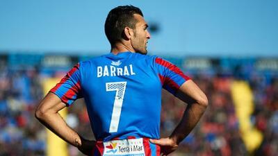 Barral y Uche consiguieron los goles de la victoria valenciana.