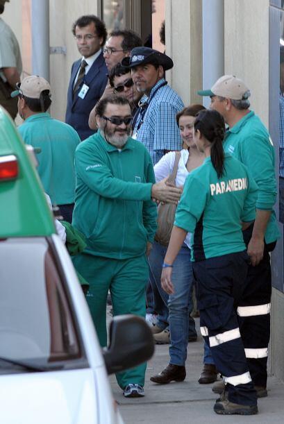 El doctor Jorge Díaz, jefe del equipo clínico de la Asociación Chilena d...