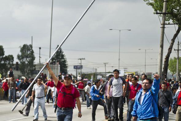 La ciudad de México se ha visto afectada desde hace casi un mes p...
