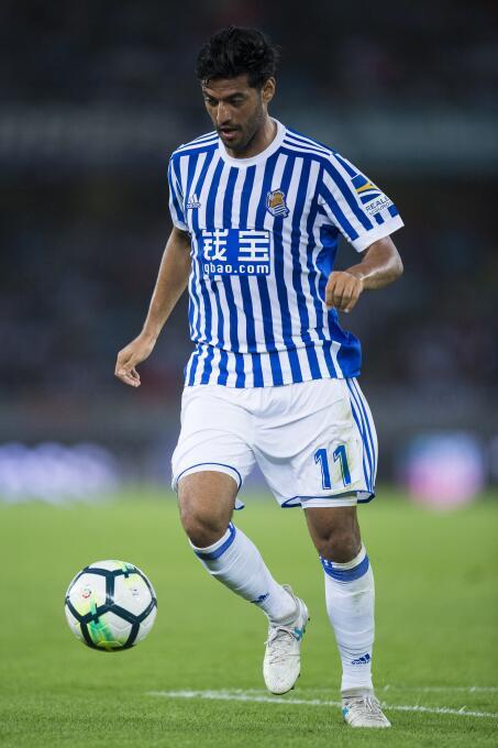 La Liga / Real Sociedad [3]-0 Villarreal: el mexicano Carlos Vela no fue...