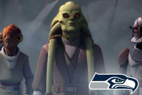 Pick 31. Seattle Seahawks -- Kit Fisto.