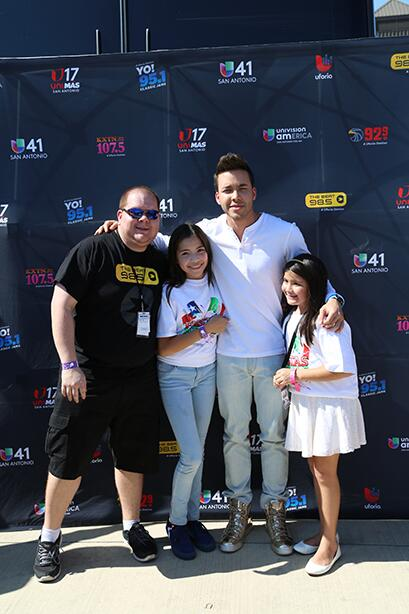 Ganaron la oportunidad de conocer a sus artistas favoritos el domingo 13...