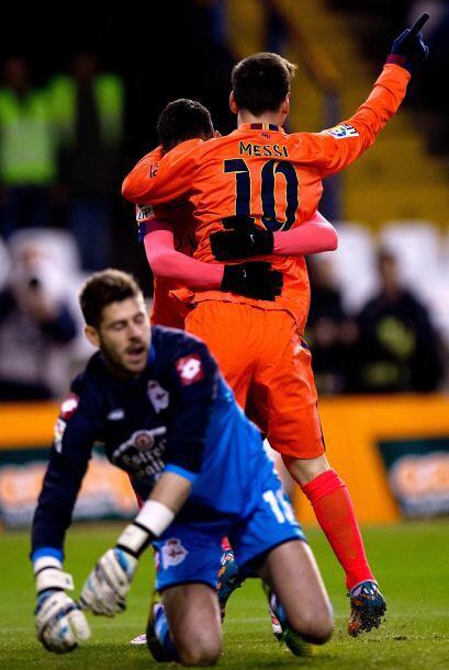 Ocho días más tarde, el club catalán mantuvo el pas...
