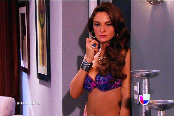 Por poquito y te atrapan Silvana, Sofía llegó al departame...