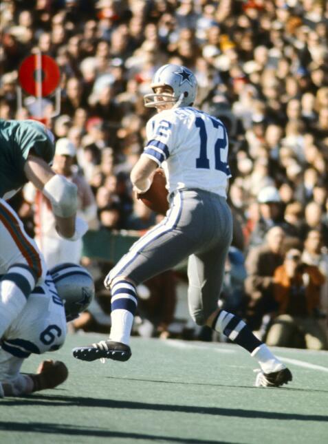 Recuerdo del Super Bowl VI: Cowboys - Dolphins