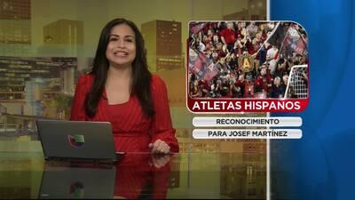 Saludo a los Atletas hispanos
