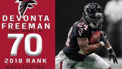 #70 Devonta Freeman (RB, Falcons) | Top 100 Jugadores NFL 2018