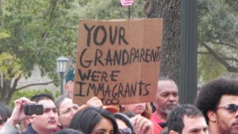 Marcha por los derechos de los inmigrantes, Austin Texas