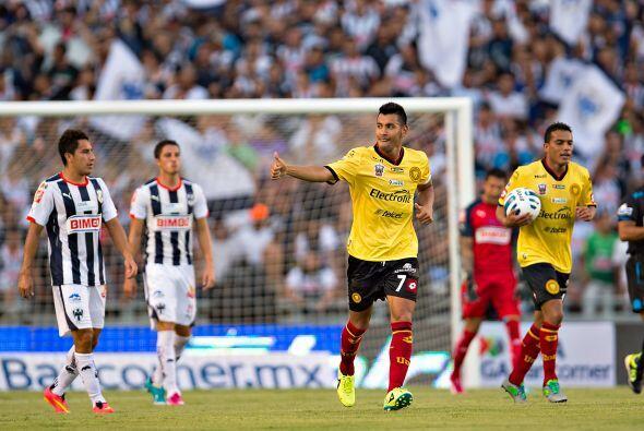 Andrés Ríos marcó su primer gol con los Leones Negros de la U. de G., el...