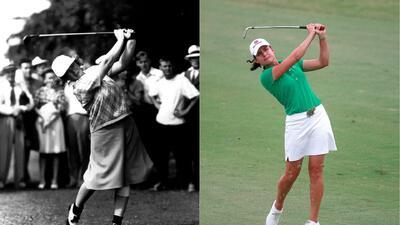 Los 100 años de la gran precursora de la gloria de Lorena Ochoa en el golf femenino