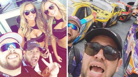 Los pichy boys en NASCAR