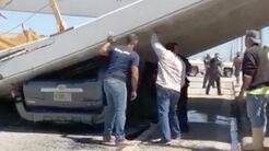 Alexa Durán, de 18 años, conducía la camioneta Toyota gris que se ve en...