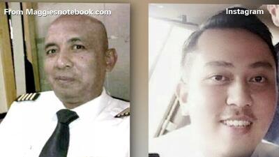 Conoce más detalles de los pilotos del vuelo 370 de Malaysia Airlines