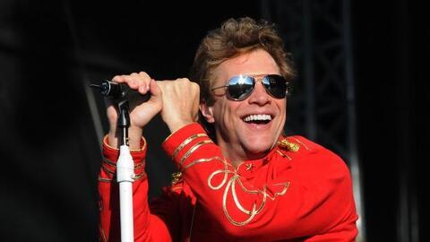 Jon Bon Jovi al Salón de la Fama del Rock and Roll