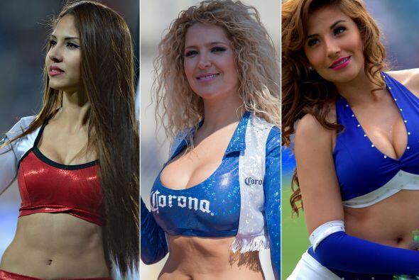 Las bellas porristas de la Jornada 7