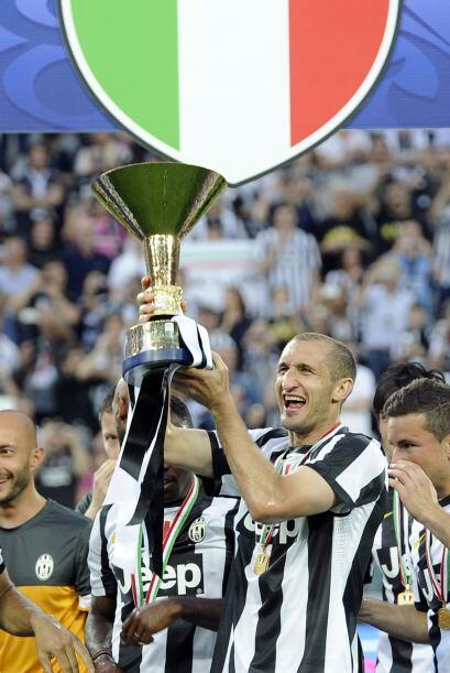 Así Juventus suma otro Scudetto en su amplia trayectoria.
