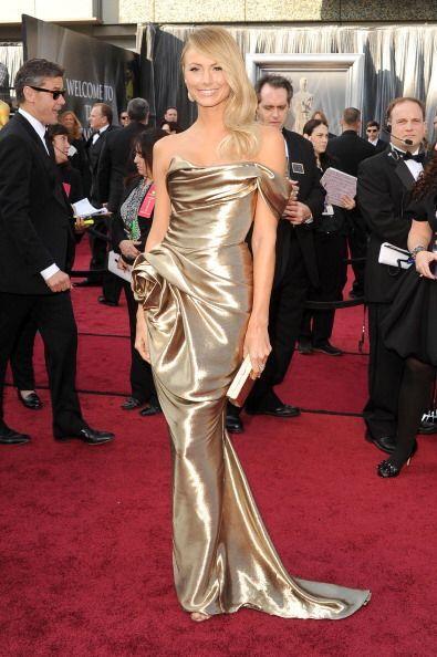 Mismo año en el que Stacy Keibler ¡escogió un modelo de Marchesa que no...