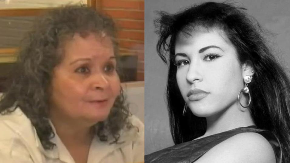 Yolanda Saldívar (i) fue encarcelada en 1995 por el asesinato de...