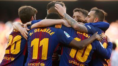 Barcelona sigue firme en La Liga tras ganarle al Athletic Bilbao en el Camp Nou