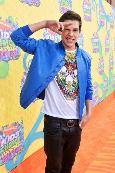 Austin Mahone tampoco defraudó con su 'outfit' juvenil y fue de los que...