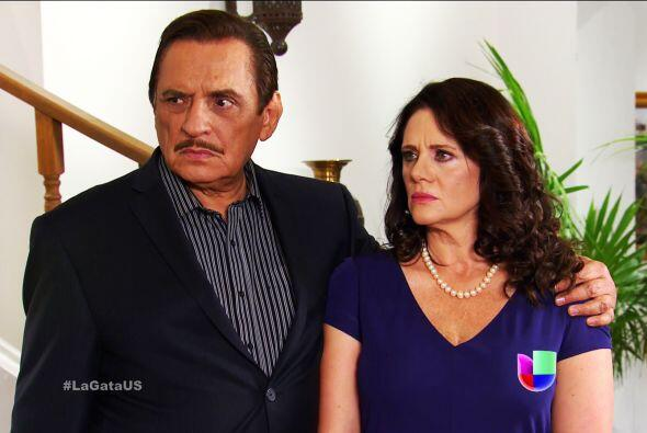 ¡Ahhh! Ya te enteraste que don Fernando fue el asesino de tu padre.