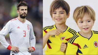 Foto de Shakira con sus hijos en el Mundial deja mucho de qué hablar en las redes