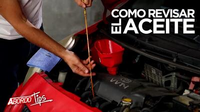 Aprende a revisar el aceite del motor de tu carro | A Bordo Tips