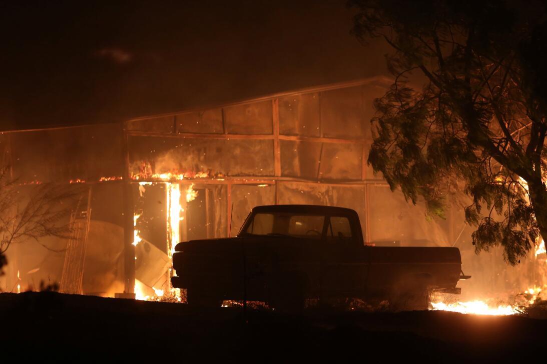 Incendio California Santa Paula