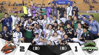 ¡Enhorabuena! Cafetaleros se coronó campeón del Ascenso MX