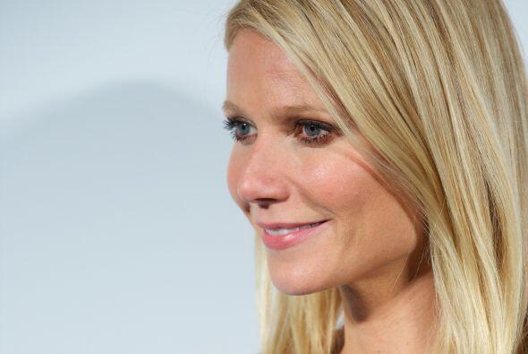 """Gwyneth Paltrow fue considerada por la revista """"People"""" la celebridad má..."""