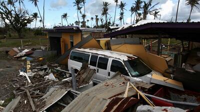 Miles de puertorriqueños siguen en la incertidumbre tras un año del paso del huracán María