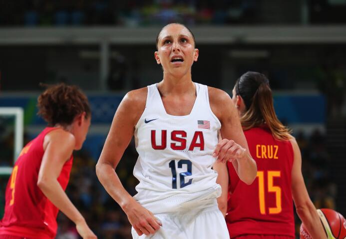 Diana Taurasi, de padres argentinos, ha conseguido 4 medallas de oro Olí...
