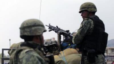 Militares mexicanos. (Imagen de Archivo).