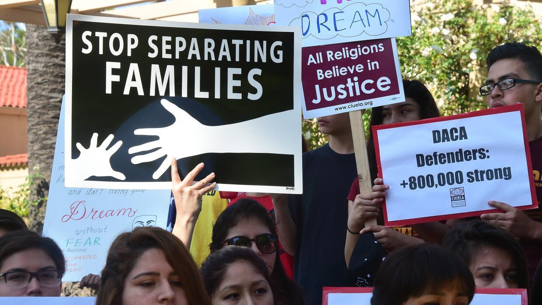 Marcha contra las deportaciones en Arizona. (Imagen de Archivo).