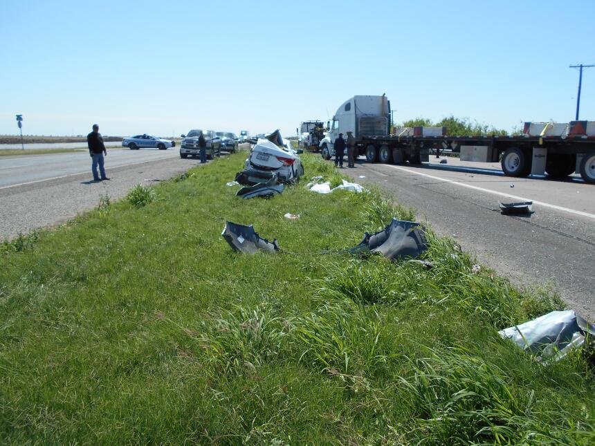 3 adolescentes de Houston mueren en accidente en autopista US 77 US_77_F...