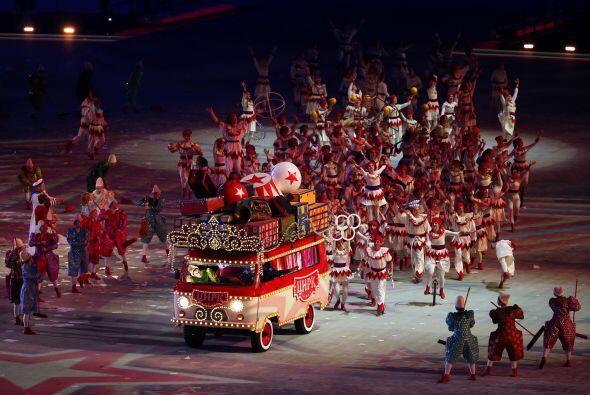 La magia del circo ruso brilló en todo su esplendor.