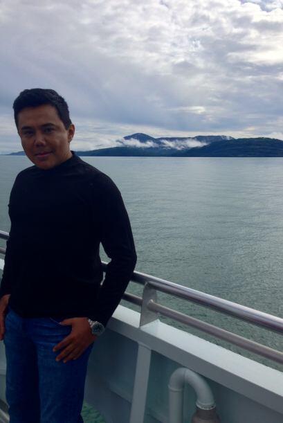 Posteriormente, Raul se dirigiría a admirar los glaciares.